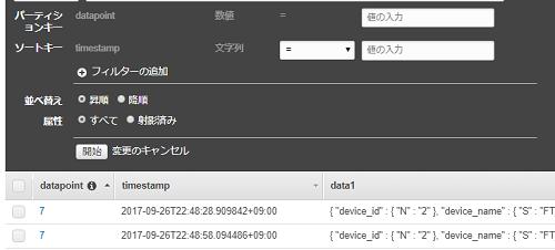 AWS dynamoDB のキーに予約語timestampを使用している場合のCLIからの